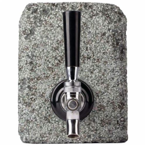 Wyndham House KTBEVDSG Granite Liquor Dispenser with Tap Perspective: front