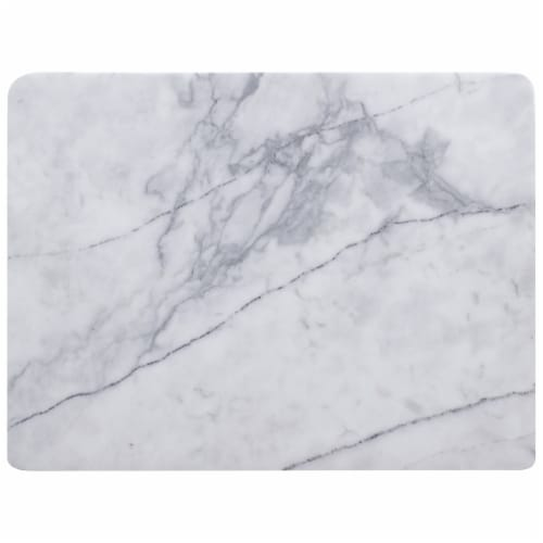 HealthSmart Marble Cutting/Pastry Board for Chefs or Bakers Perspective: front