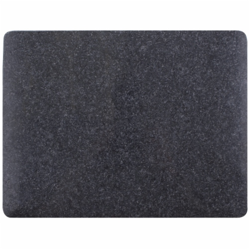 Granite Cutting Board with Rounded Corners Durable Professional-Grade Kitchen Accessory Perspective: front