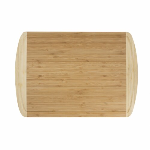 "Professional Grade Bamboo Cutting Board, 7.75""  x 12.5"" Perspective: front"