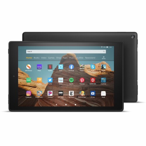 Amazon 32G HD Fire Tablet Perspective: front