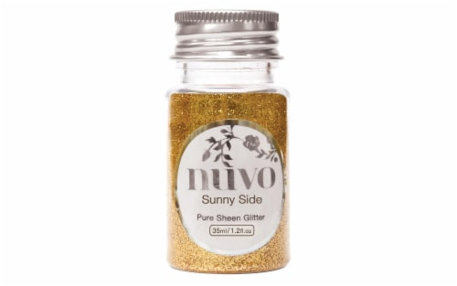 Nuvo Glitter Pure Sheen 1.2oz Side Perspective: front