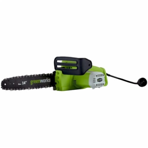 Greenworks  20222 9A 14 in. Chainsaw Perspective: front