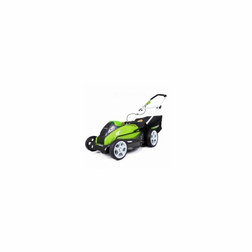 Greenworks  2500502 G-Max 19 in. 40V Cordless Digipro Mower Perspective: front