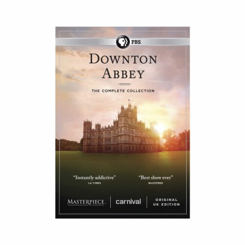 Downton Abbey: The Complete Collection (DVD) Perspective: front