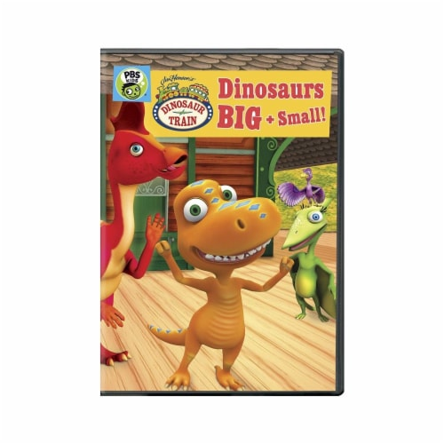 Dinosaur Train/Dinosaurs Big And Small (DVD) Perspective: front