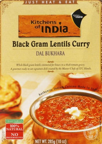 Kitchens of India Black Gram Lentils Curry Perspective: front