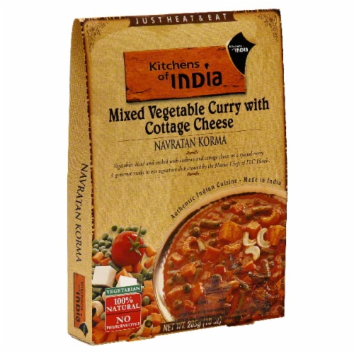Kitchens of India Mix Vegetable Curry With Cottage Cheese Perspective: front