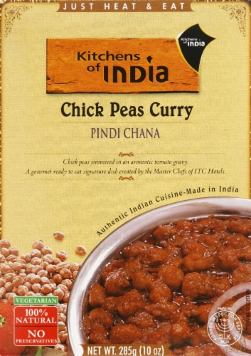 Kitchens of India Chick Peas Curry Perspective: front