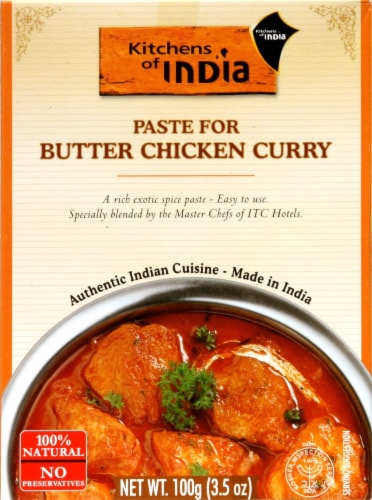 Kitchens of India Butter Chicken Curry Paste Perspective: front