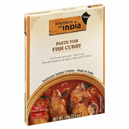 Kitchens of India Paste for Fish Curry Perspective: front