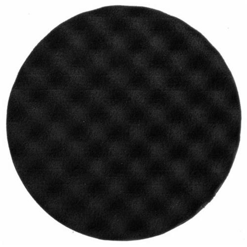 Mirka Abrasives MRK-7993115021 150 x 25 mm Polishing Foam Pad, Black Waffle Perspective: front