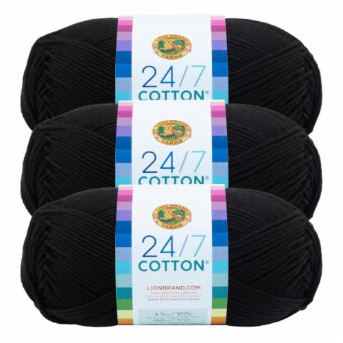 Lion Brand Yarn 5600-573 Martha Mambo Yarn Sea Turtle Pack of 3 skeins