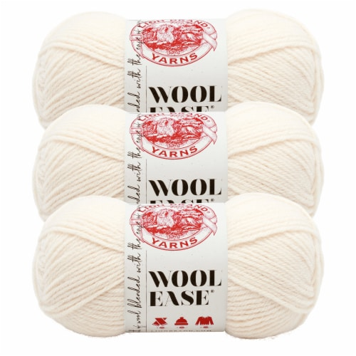 Lion Brand Yarn 620-099 Wool-Ease Yarn Skeins - Fisherman Perspective: front
