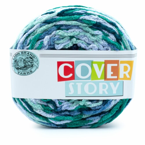 Lion Brand Yarn Cover Story Yarn - Jasper Perspective: front