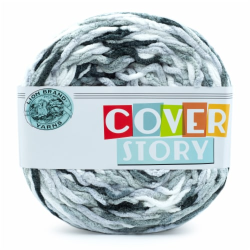 Lion Brand Yarns Cover Story Yarn - Mercury Perspective: front