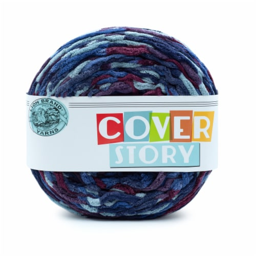 Lion Brand Yarns Cover Story Yarn - Astro Perspective: front