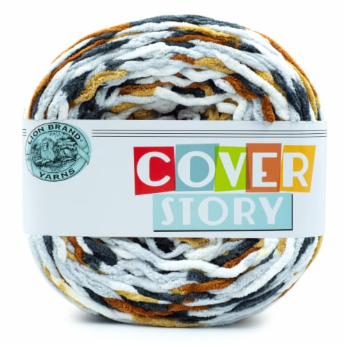Lion Brand Yarn Cover Story Yarn - Oro Perspective: front