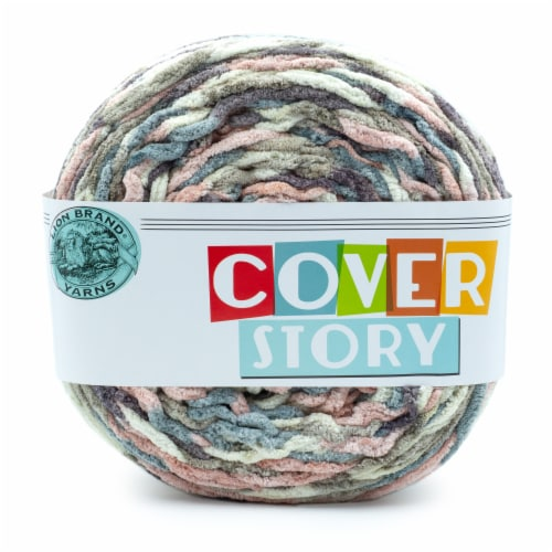 Lion Brand Yarn Cover Story Yarn - Emery Perspective: front