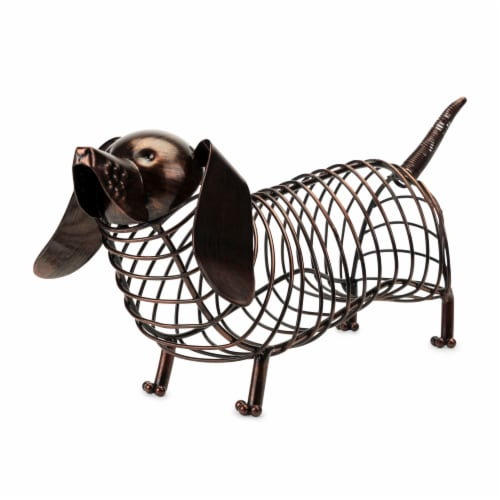 Woof Dachshund Cork Holder by True Perspective: front
