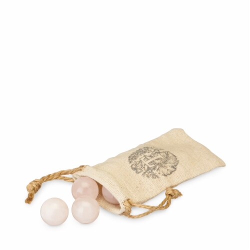 Rose Quartz Wine Gems Set of 6 by Twine® Perspective: front