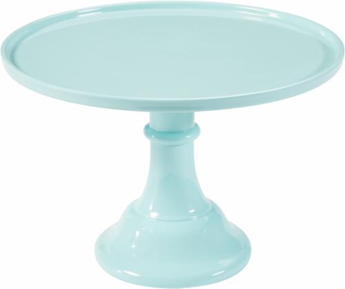 Cakewalk™ Burnside Melamine Cake Stand - Mint Perspective: front