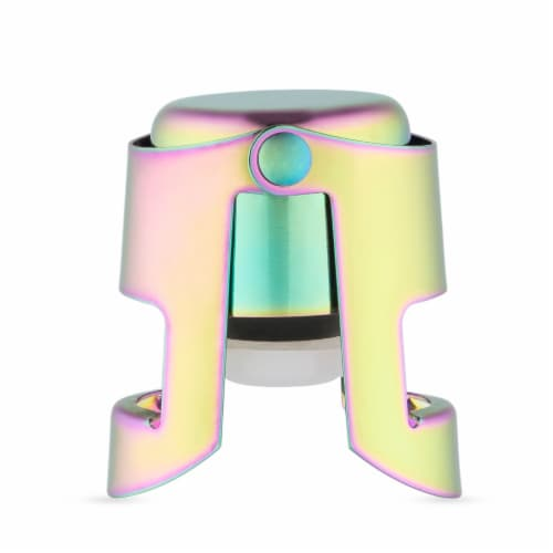 Mirage: Rainbow Champagne Stopper by Blush® Perspective: front