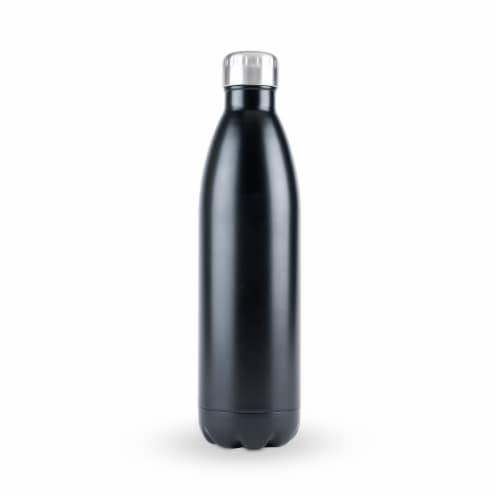 True2Go: 750ml Water Bottle in Matte Black by True Perspective: front