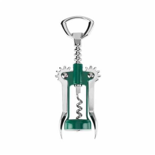 Soar™: Winged Corkscrew in Green by True Perspective: front