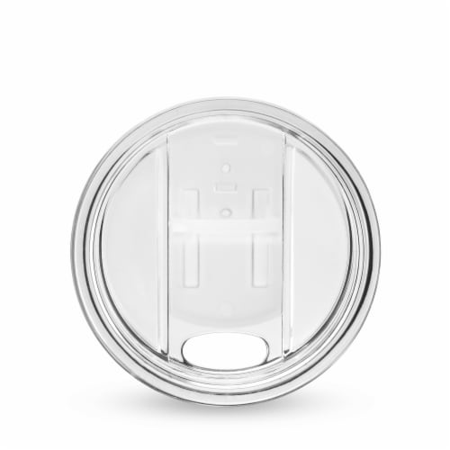 Host 8069 Wine Freeze Lid, Clear - Set of 2 Perspective: front