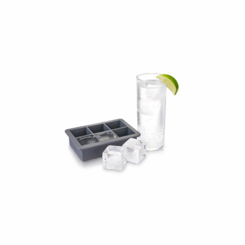 Viski 9576 Highball Ice Cube Tray with Lid Perspective: front