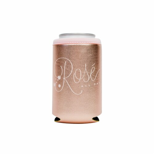 Distributed Rose All Day Metallic Can Sleeve Perspective: front