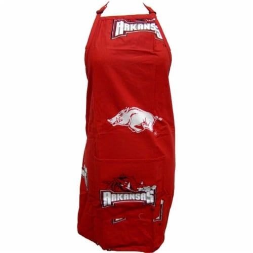 College Covers Arkansas Apron 26 in.X35 in. with 9 in. pocket Perspective: front