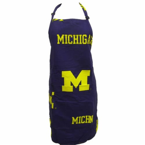 College Covers Michigan Apron 26 in.X35 in. with 9 in. pocket Perspective: front