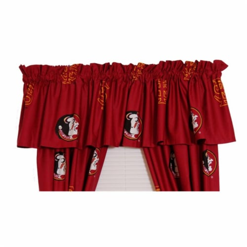 College Covers FSUCVL FSU Printed Curtain Valance- 84 x 15 Perspective: front