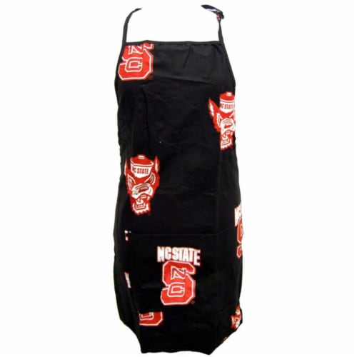 College Covers NC State Apron 26 in.X35 in. with 9 in. pocket Perspective: front