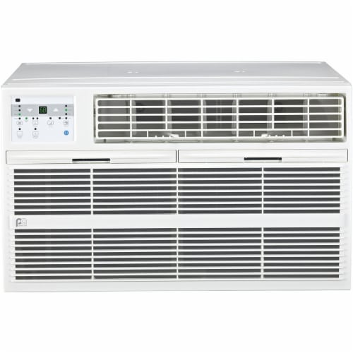 Perfect Aire 3PATWH12002 12000 BTU Through the Wall Heat & Cool Air Conditioner with Remote C Perspective: front