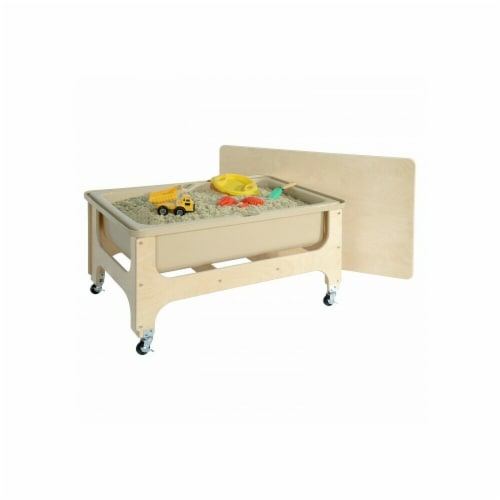 Wood Designs 11865TN Deluxe Sand & Water Table with Lid Perspective: front