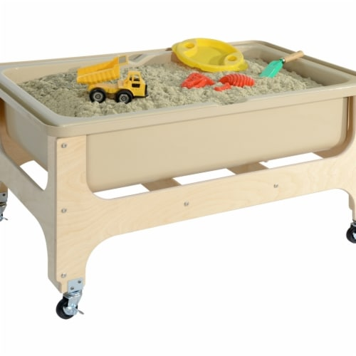 Wood Designs 11866TN Deluxe Sand & Water Table without Lid Perspective: front