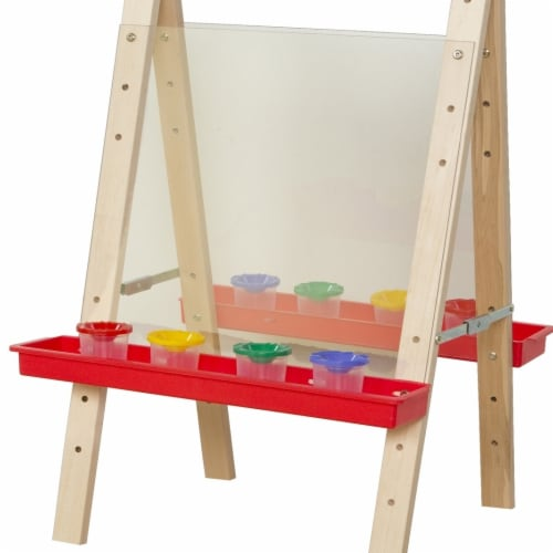 Wood Designs 17523 Tot Size Double Acrylic Easel Perspective: front