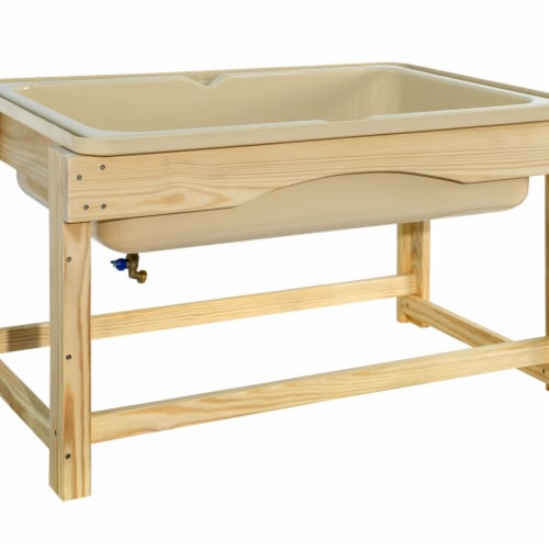 Wood Designs 991463 Outdoor Sand & Water Table Perspective: front