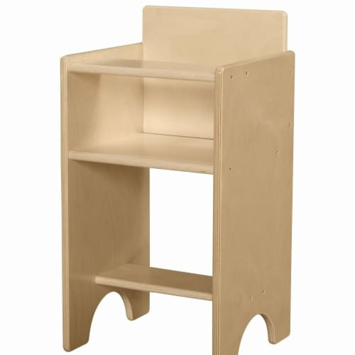 Contender C81100 Doll High Chair with RTA Perspective: front