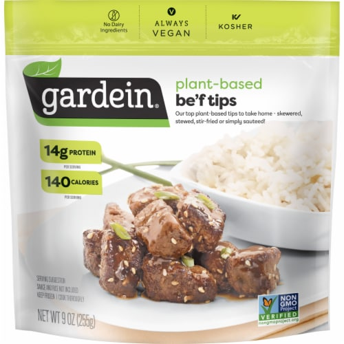 Gardein Home Plant-Based Be'f Tips Perspective: front