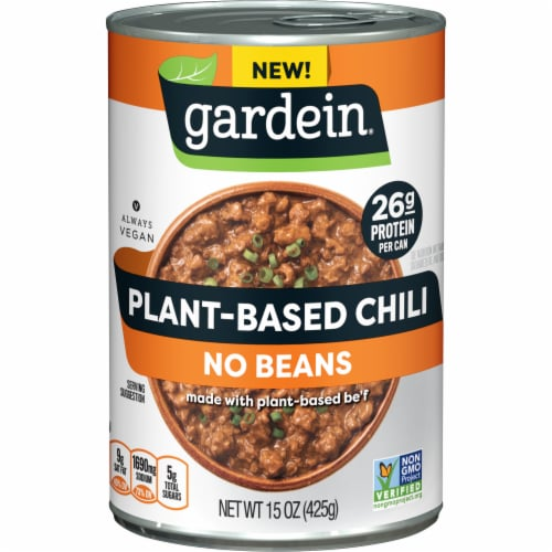 Gardein Plant-Based Chili No Beans Perspective: front