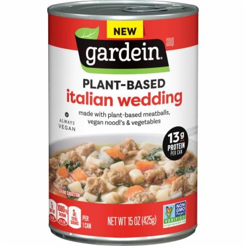 Gardein Vegan Plant-Based Meatball Italian Wedding Soup Perspective: front