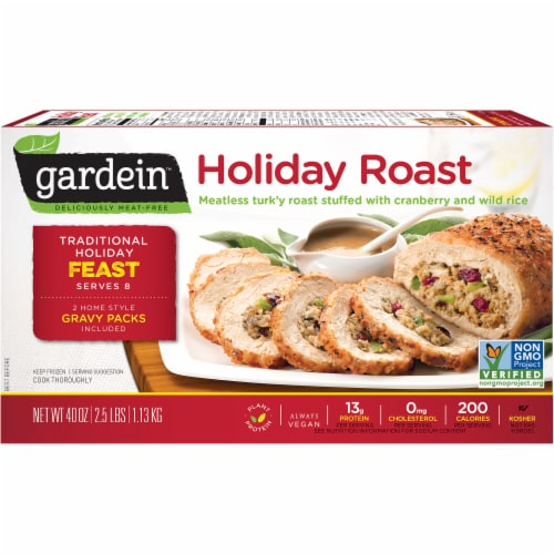 Gardein Meat-Free Holiday Roast Perspective: front