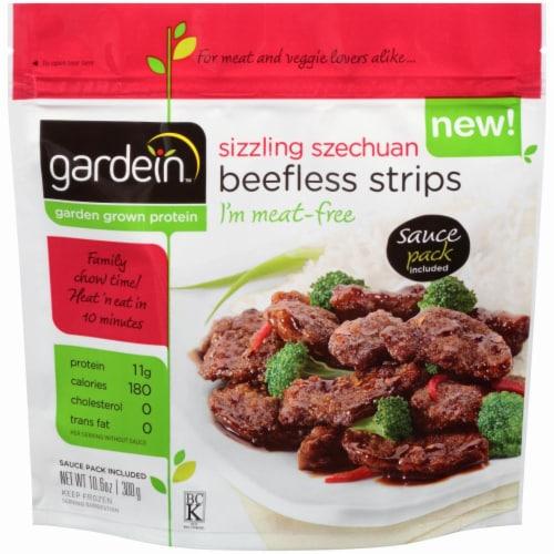 Gardein Sizzling Szechuan Beefless Strips Perspective: front
