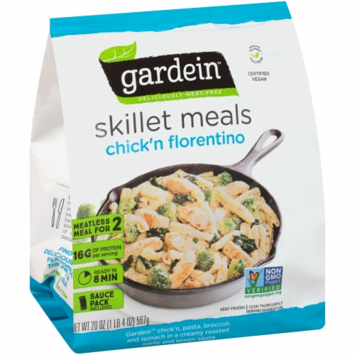 Gardein Meatless Chick'n Florentino Skillet Meals Perspective: front