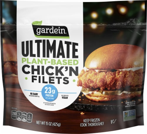 Gardein Ultimate Plant-Based Chick'n Filets Perspective: front