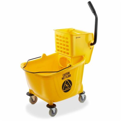 Dryser Commercial Mop Bucket Perspective: front